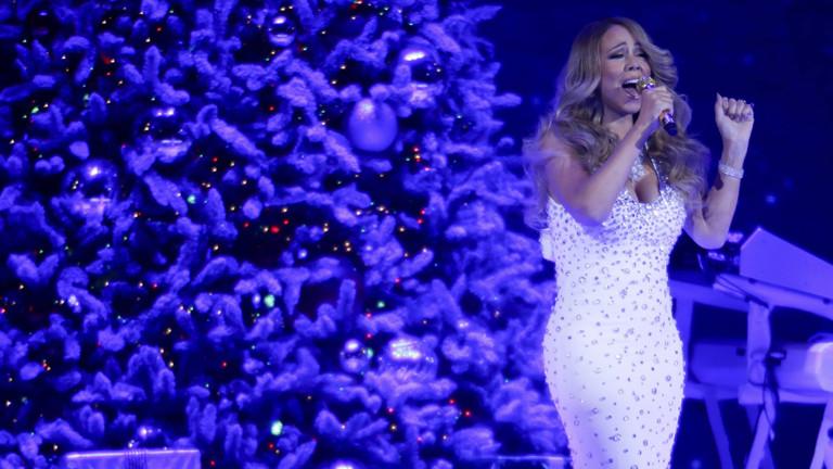 Mariah Carey bei einem Konzert