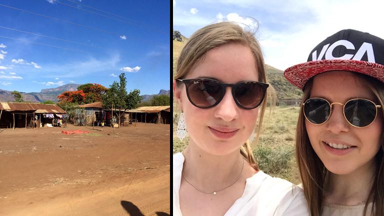 Tilla Kross in Uganda