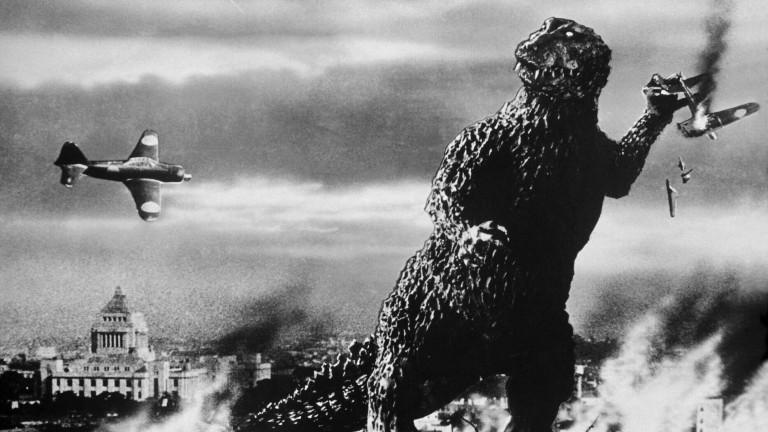 Ausschnitt aus dem Godzilla Film von 1954.