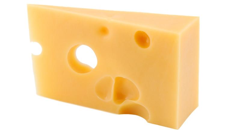 Ein Stück Käse