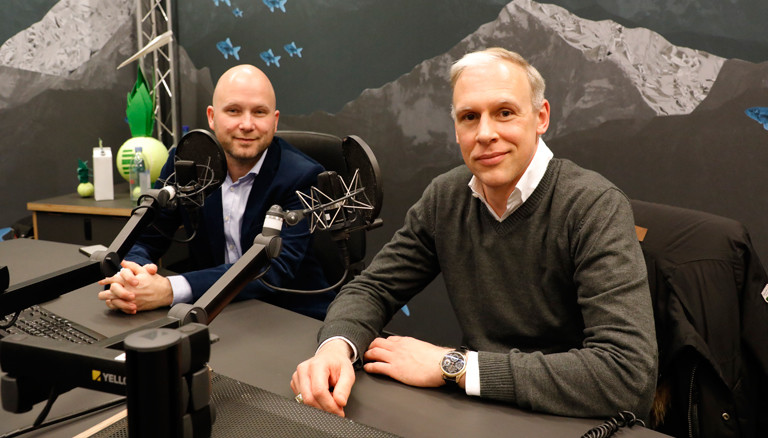 Sebastian Purps-Pardigol (links) und Henrik Kehren (rechts)