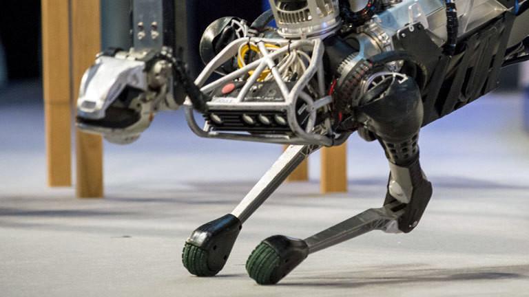 Der Roboter SpotMini des Herstellers Boston Dynamics.
