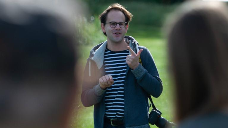 Steffen Regis, Bündnis 90 / Die Grünen, im September 2020 vor seiner Erkrankung