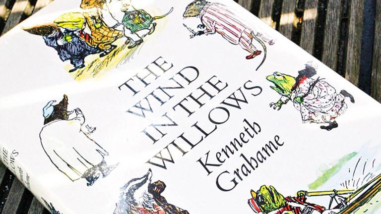 """Das Buch """"Wind in the Willows"""" von Kenneth Grahame"""