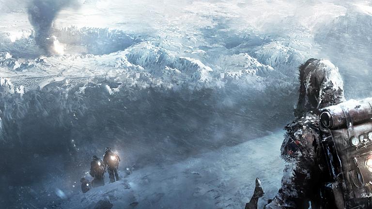 Mann im Eis, Männer mit Taschenlampen