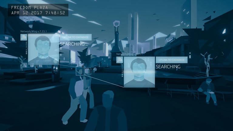 """Screenshot aus dem Spiel """"Orwell"""""""