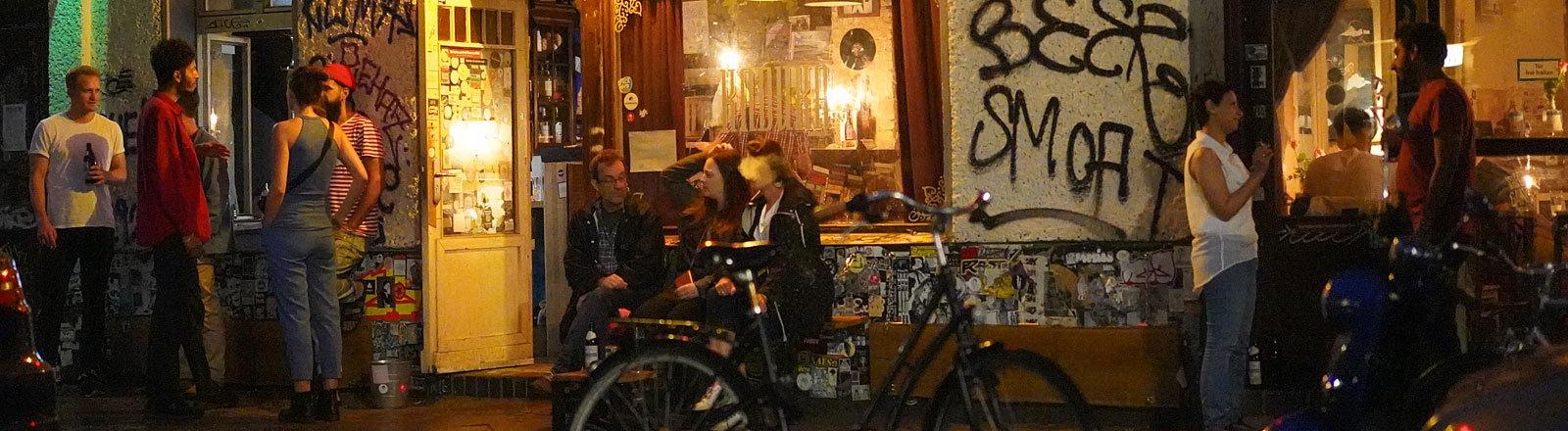 Eine Bar in Berlin Neukölln