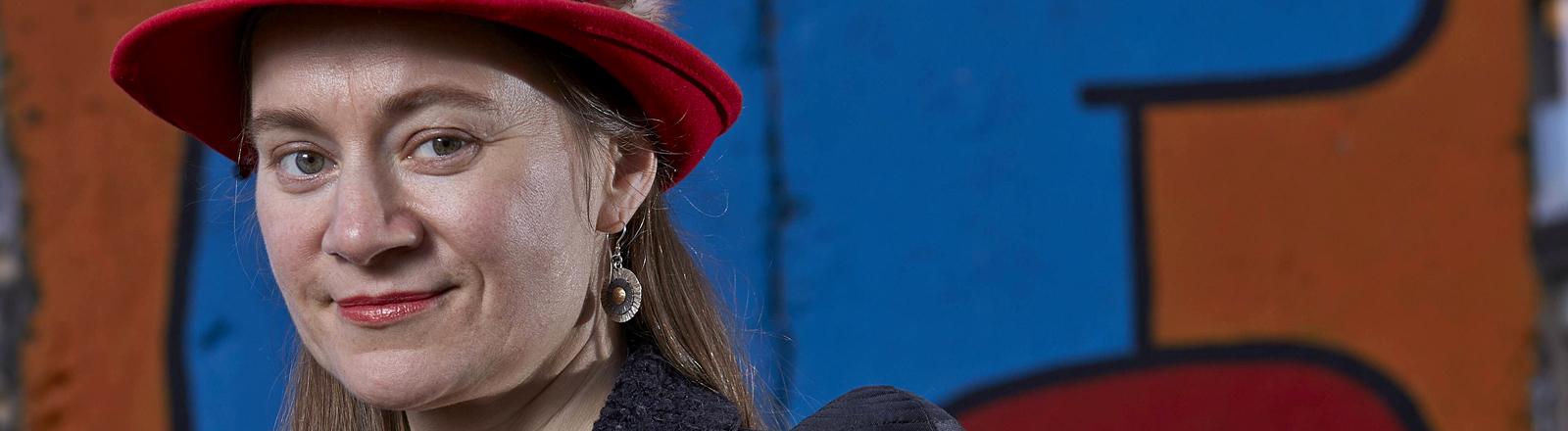 Die Linke-Politikerin Anke Domscheit-Berg