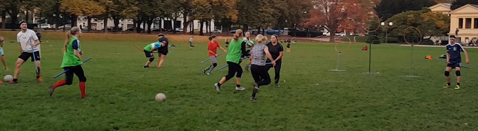 Quidditch-Spieler in Bonn