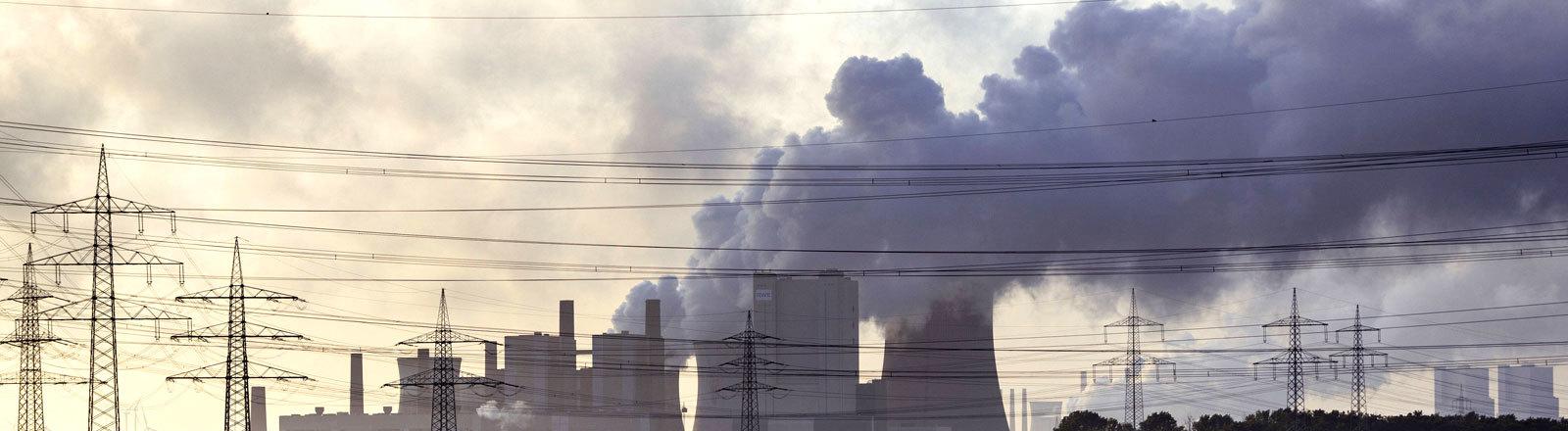 Ein Kohlekraftwerk.