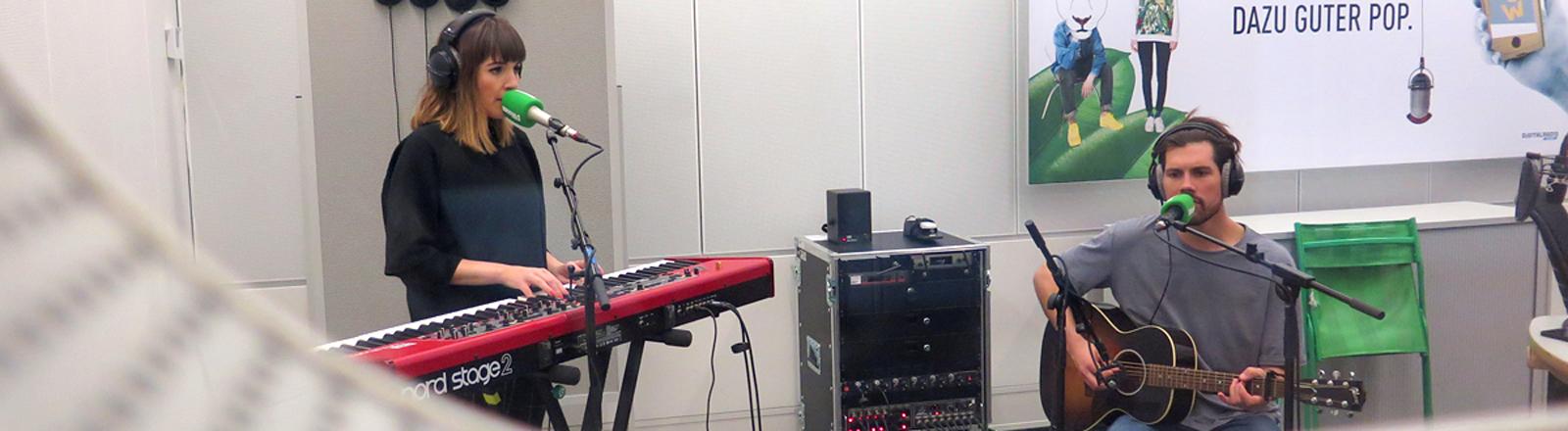 Oh Wonder im DRadio-Wissen-Studio
