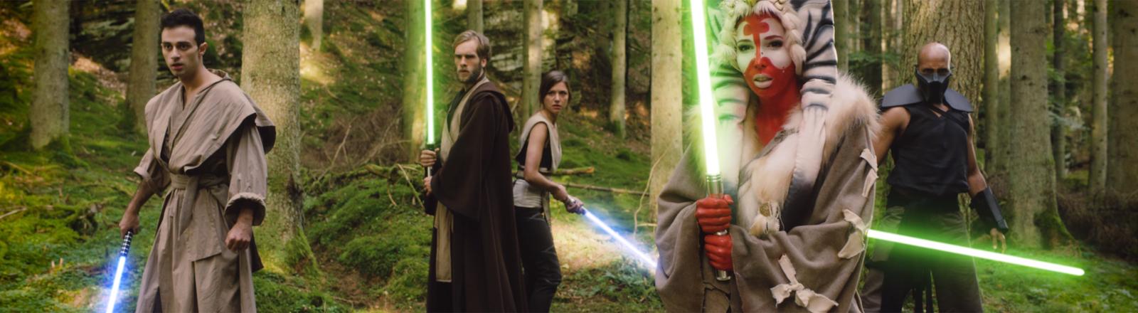 Homage an Star Wars: Vi-Dan Tran und Shawn Bu landen einen viralen Hit