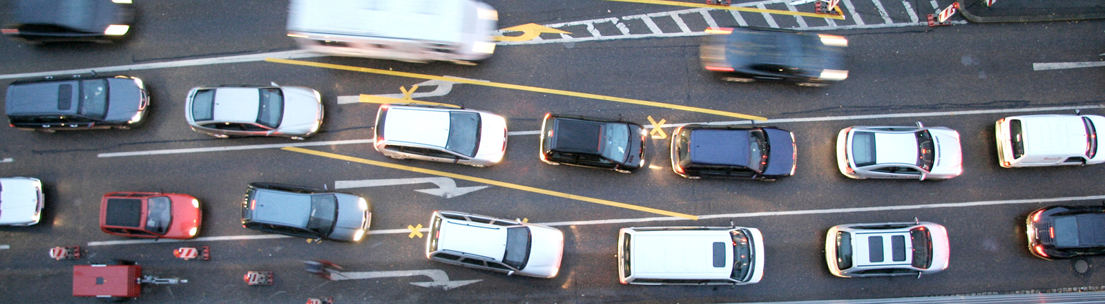 Starkes Verkehrsaufkommen