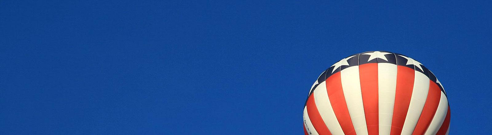 Ballon in USA-Farben