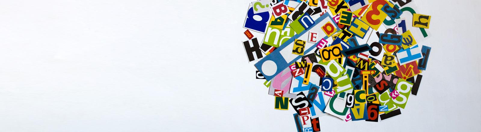 Sprache und Gehirn.
