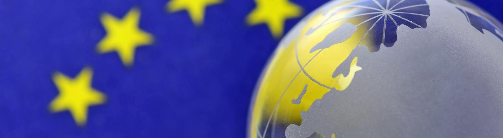 Die Flagge Europas.