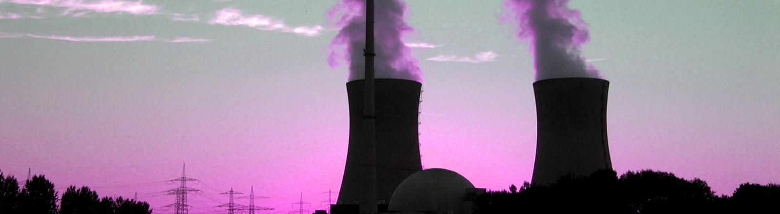 Atomkraftwerk.