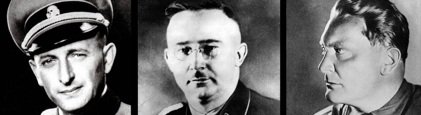 Adolf Eichmann, Heinrich Himmler, Hermann Göring