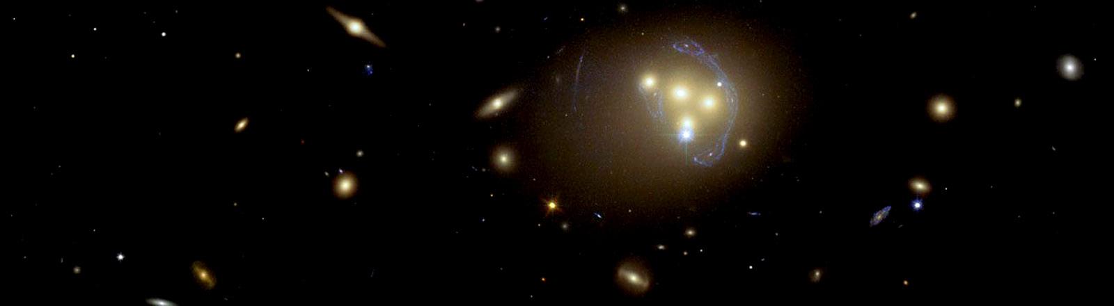 Ein Blick in den Sternenhimmel.