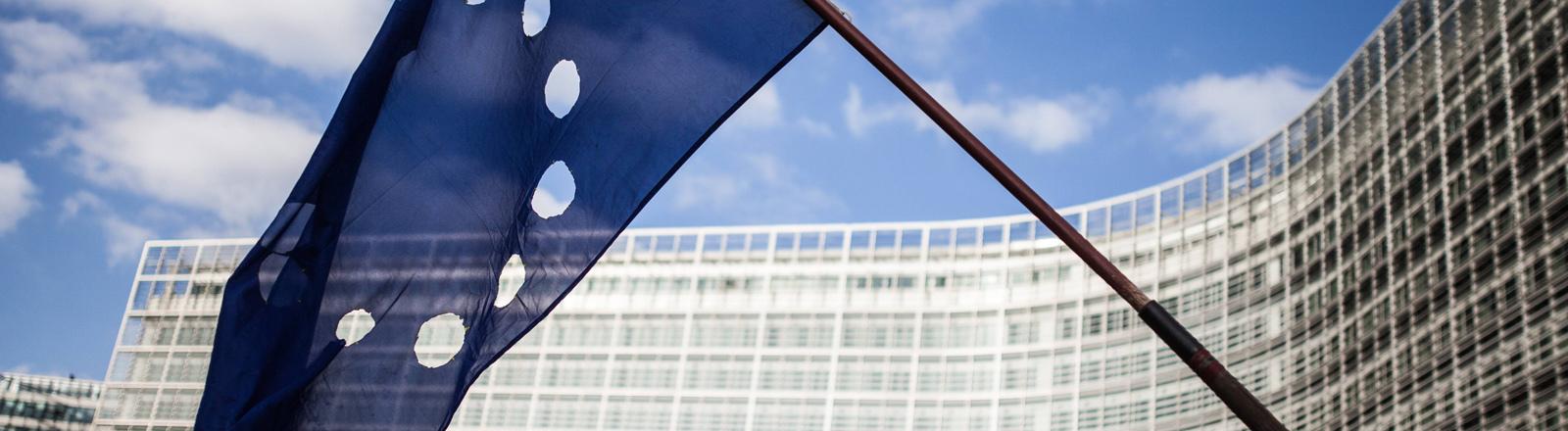 Europaflagge in Brüssel