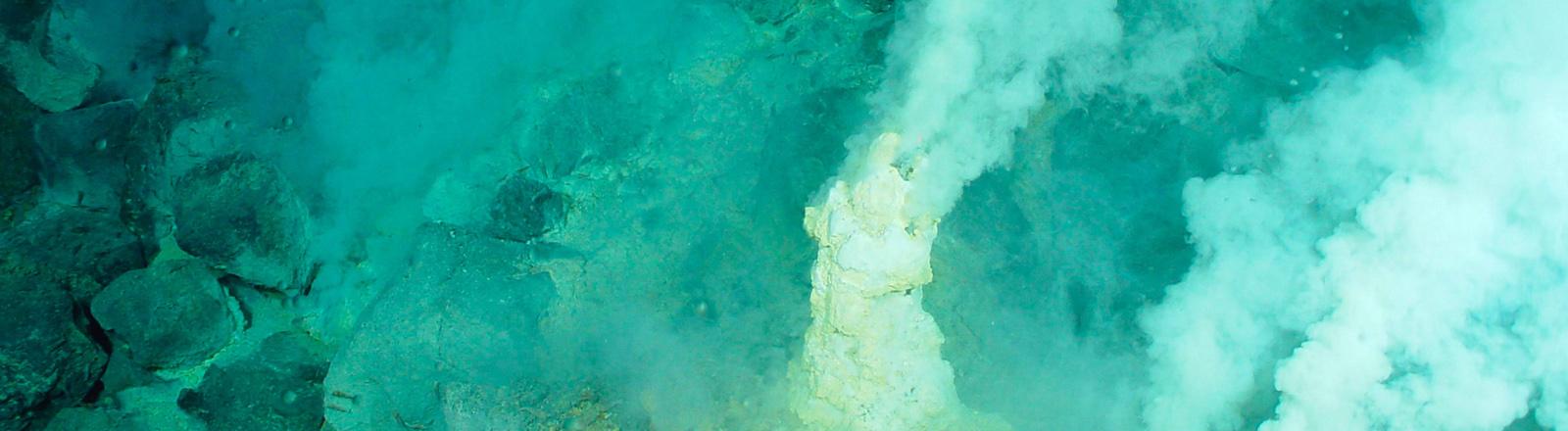 Der Unterwasservulkan Eifuku