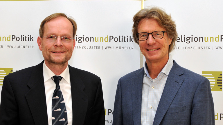 Samuel Vollenweider, Theologe, und Markus Donath, Experimentalphysiker