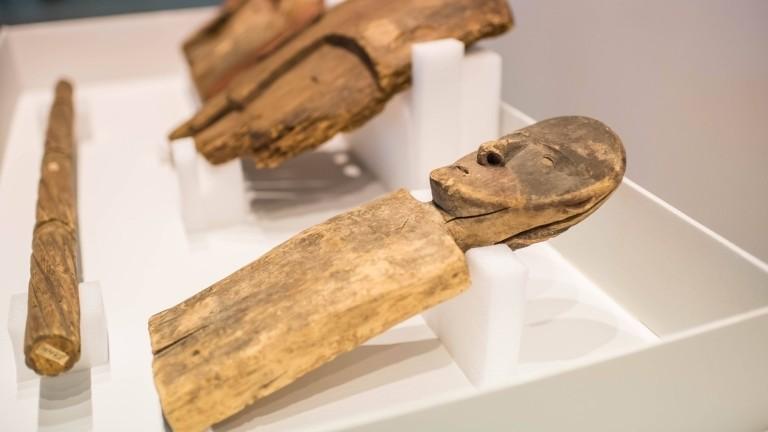 Objekte aus dem Ethnologische Museum Berlin, die an die Ureinwohner Alaskas zurückgegeben worden sind – zum ersten Mal in der Museumsgeschichte.