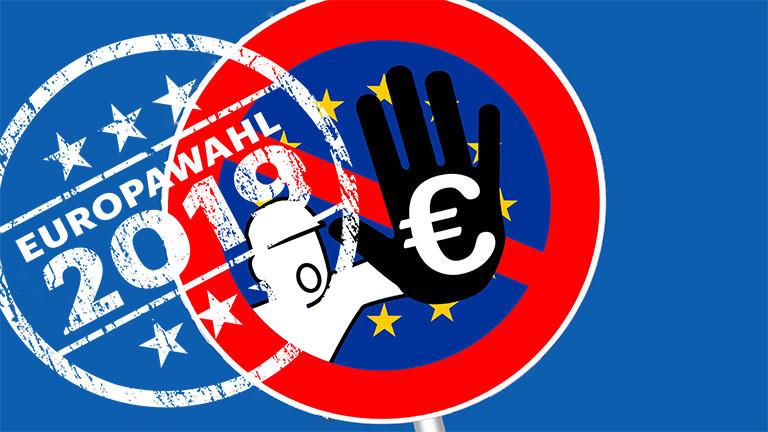 Europäische Union EU EU-Wahl 2019 Euro-Zone