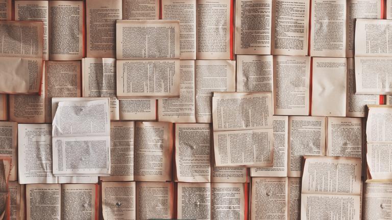 Geöffnete Bücher