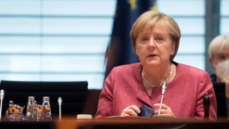 Bundeskanzlerin Angela Merkel 2021