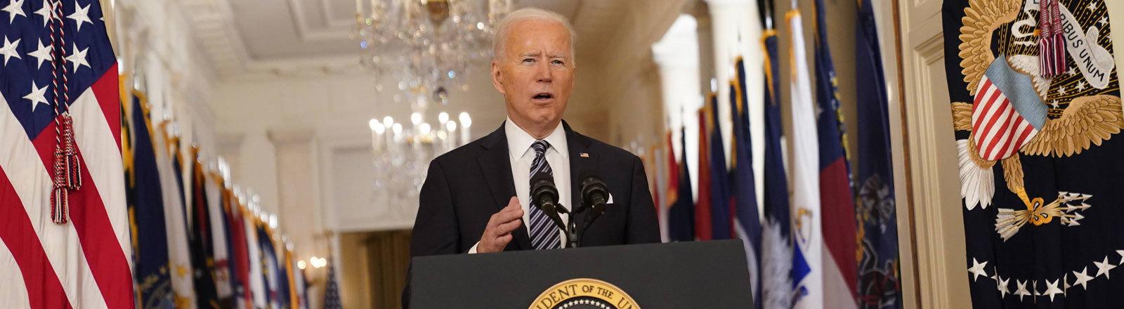 Joe Biden, der 46. Präsident der USA.