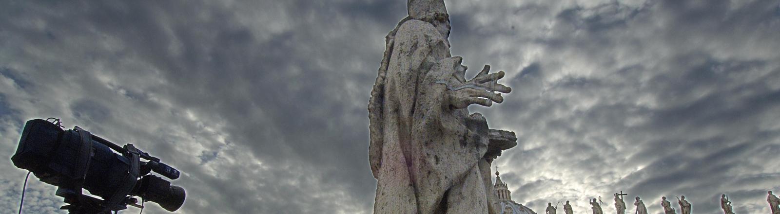 Kameras vor dem Vatikan