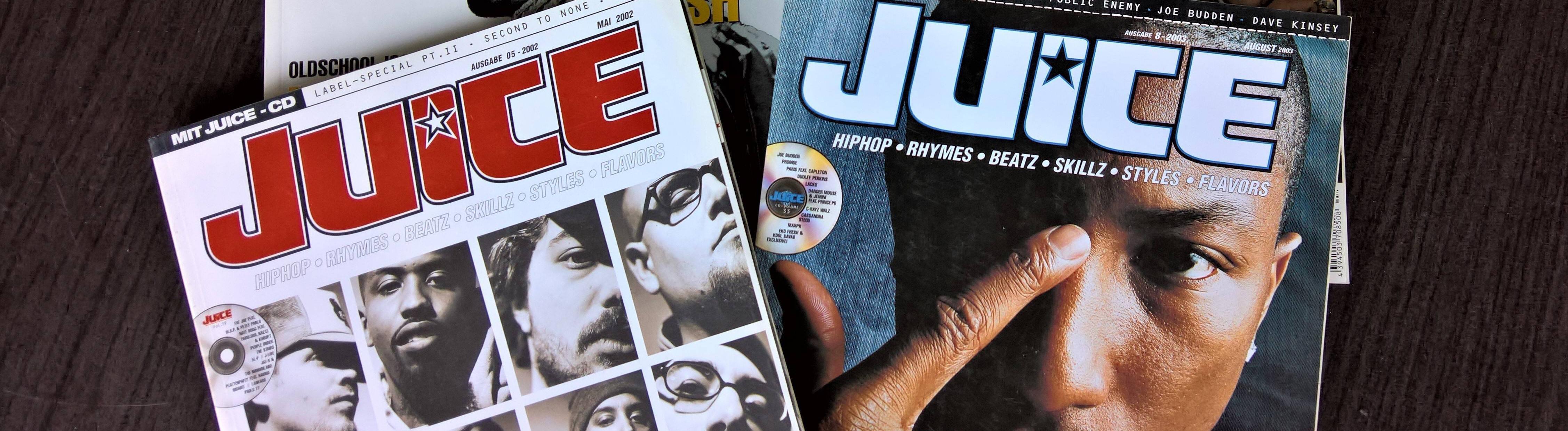 Juice ist ein deutsches Hip-Hop-Magazin. Die Zeitschrift erscheint sechsmal pro Jahr im Verlag Piranha Media. Das Blatt wurde 1997 gegruendet