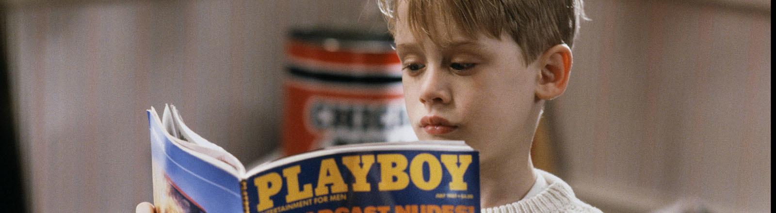 """Macaulay Culkin leist den Playboy in """"Kevin Allein zu Haus"""""""