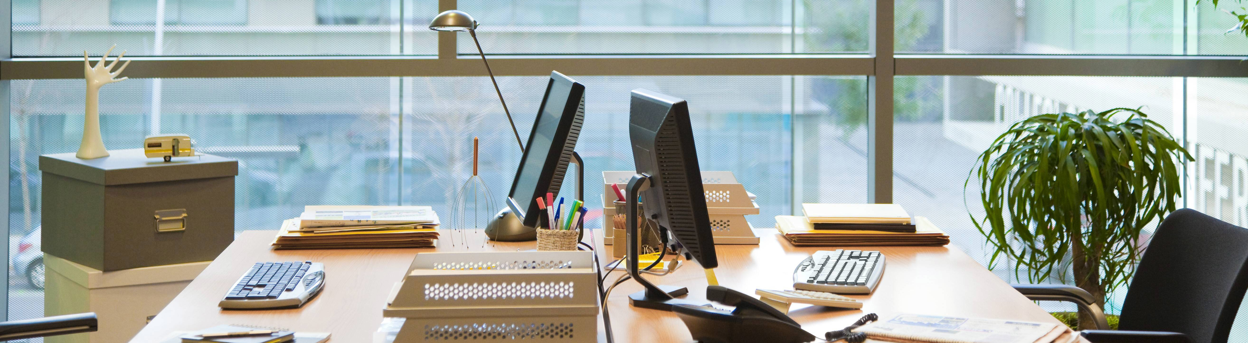 Leeres Büro