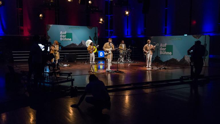 Auf der Bühne, Corona-Ausgabe mit Oehl