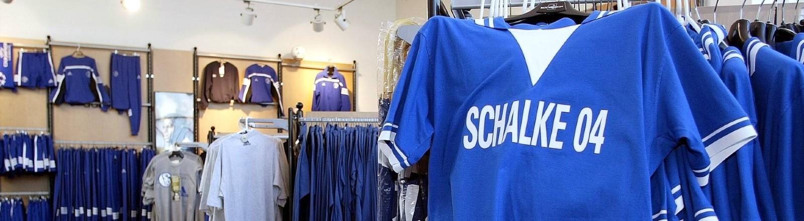 Ein Schalke Fanshop