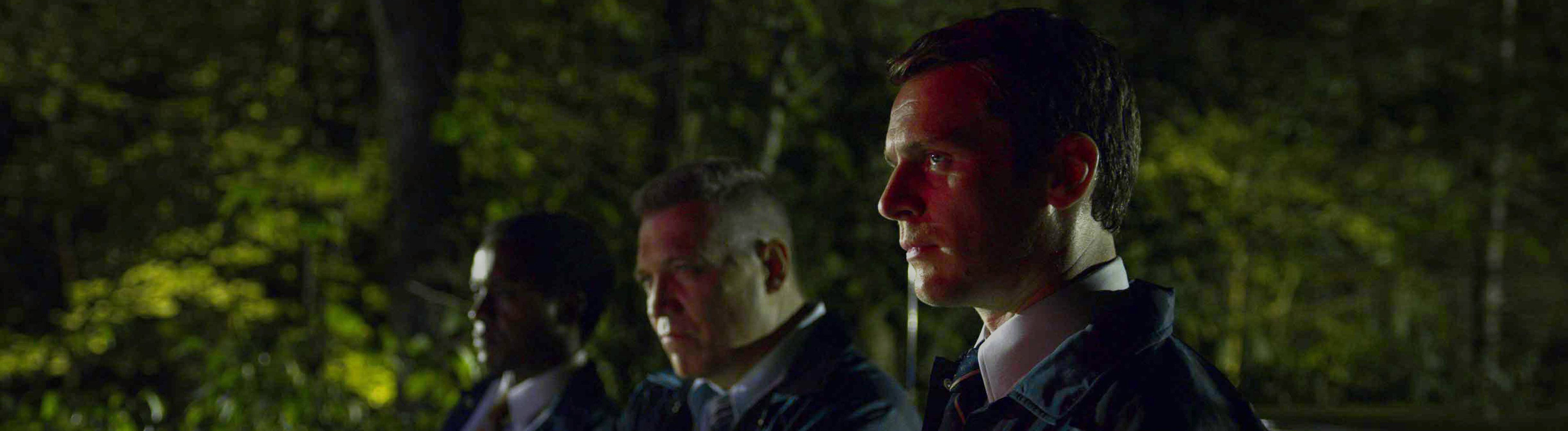MINDHUNTER 2017- serie TV creee par David Fincher et Joe Penhall saison 2 episode 5 Albert Jones Holt McCallany Jonathan Groff. d apres Mind Hunter: Inside FBI s Elite Serial Crime Unit de Mark Olshaker et John E. Douglas based on the book Mind Hunter: Inside FBI s Elite Serial Crime Unit by Mark Olshaker and John E. Douglas Netflix