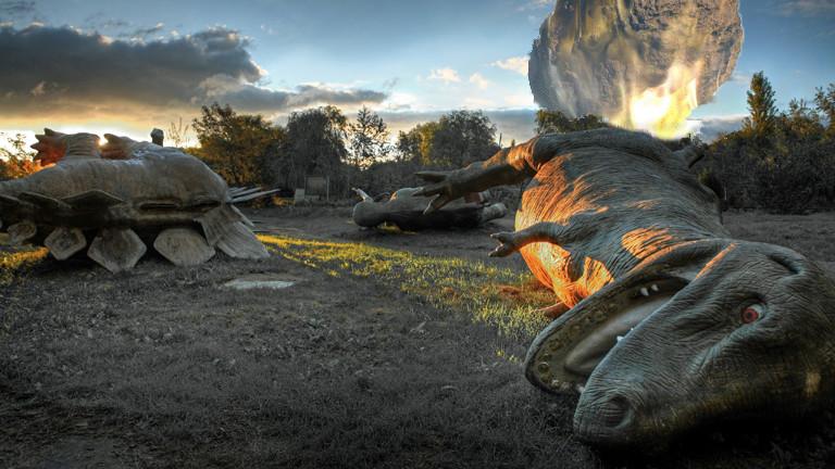 Dinosaurier Asteroideneinschlag