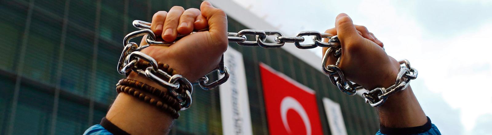 Pressefreiheit in der Türkei