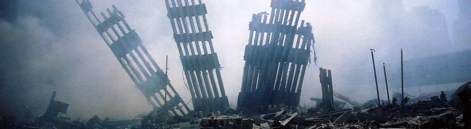 Ruinen des World Trade Centers in New York