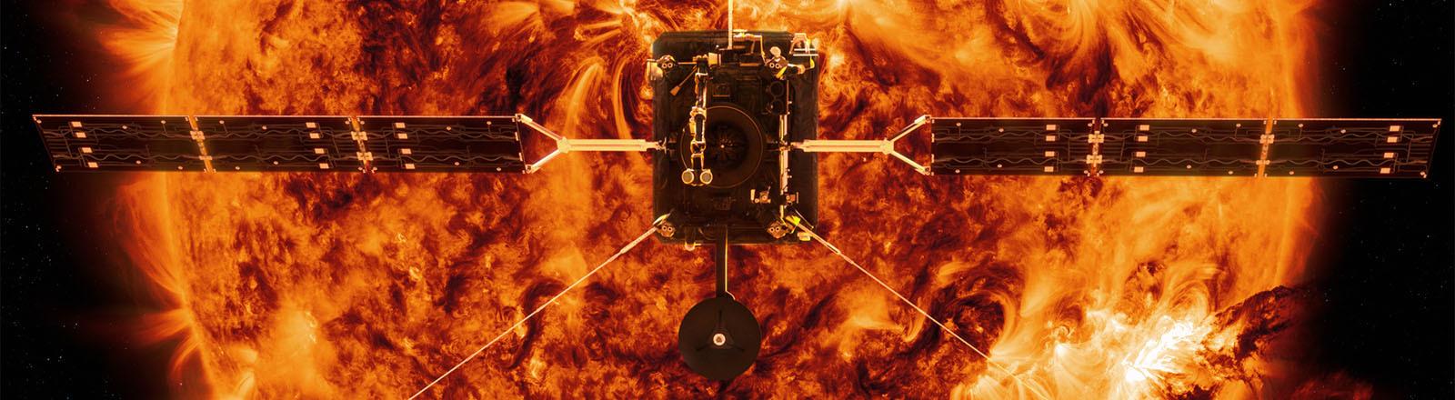 Die Sonnensonde Solar Orbiter.