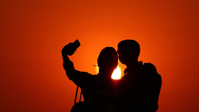 Selfieaufnahme in Mumbai Dezember 2015