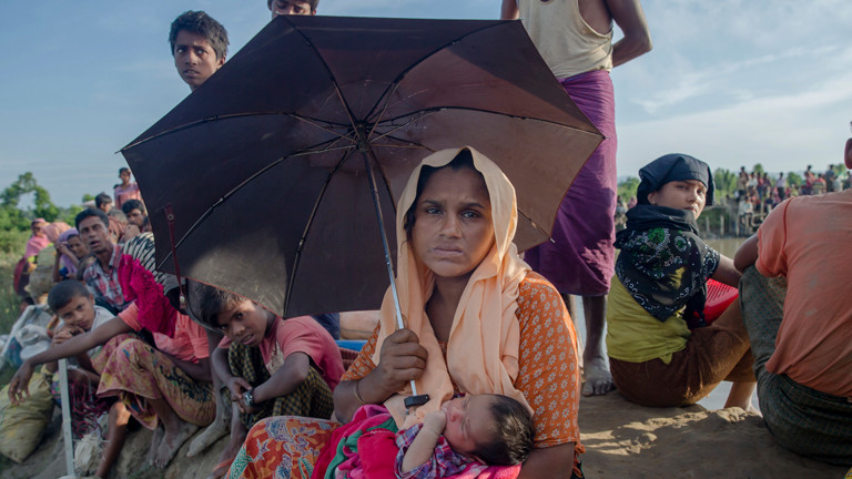 Rohingya-Flüchtlinge aus Myanmar