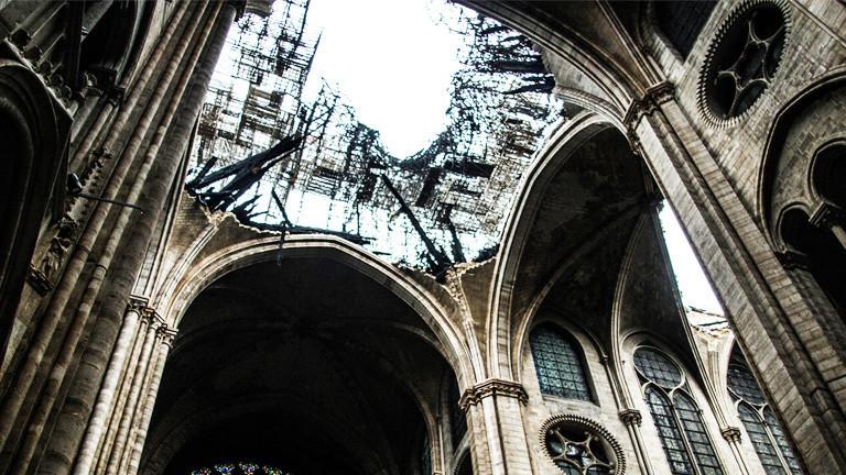 Holz oder Stahl für Notre-Dame