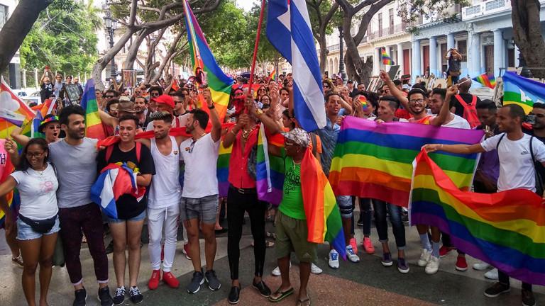 Trotz Verbot Demo für LGBTQ-Rechte
