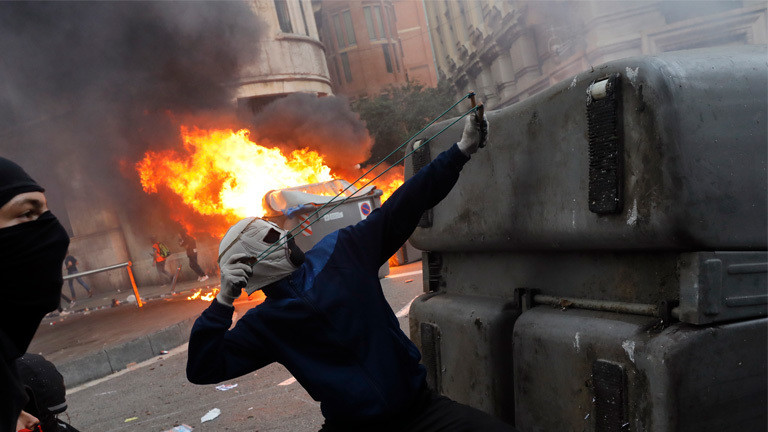 """Extreme Gewalt"" in Barcelona"