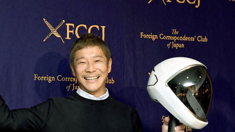Japanischer Milliardär sucht Frau für Mondflug