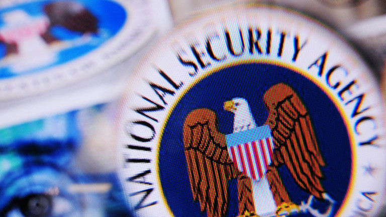 Das Logo des US-Geheimdienstes National Security Agency (NSA)