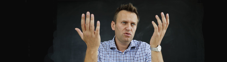 Der oppositionelle Blogger Alexej Nawalny